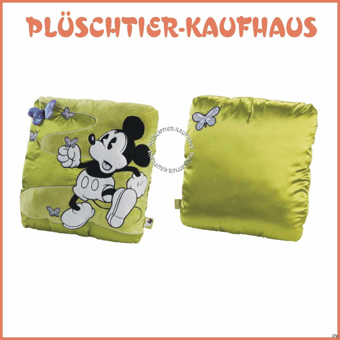 mickey mouse im retro design kissen micky gro. Black Bedroom Furniture Sets. Home Design Ideas