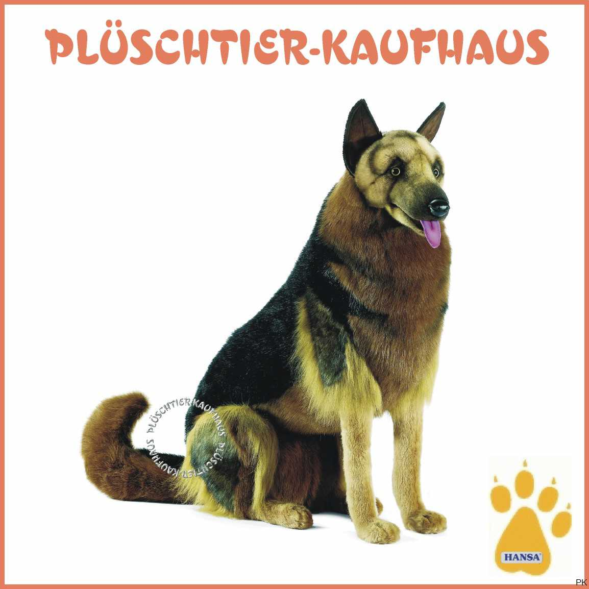 stofftier hund stofftier deutscher sch ferhund. Black Bedroom Furniture Sets. Home Design Ideas